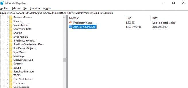 Registro Windows