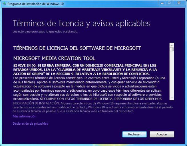 Actualizar de Windows 7 a Windows 10 - Manual 1