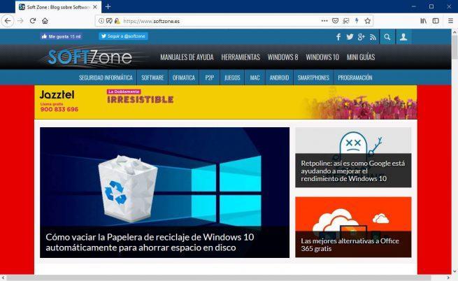 Firefox Quantum SoftZone