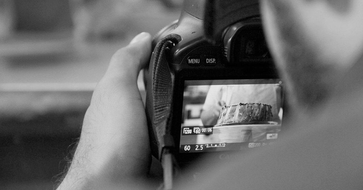 Fotografía con cámara Reflex