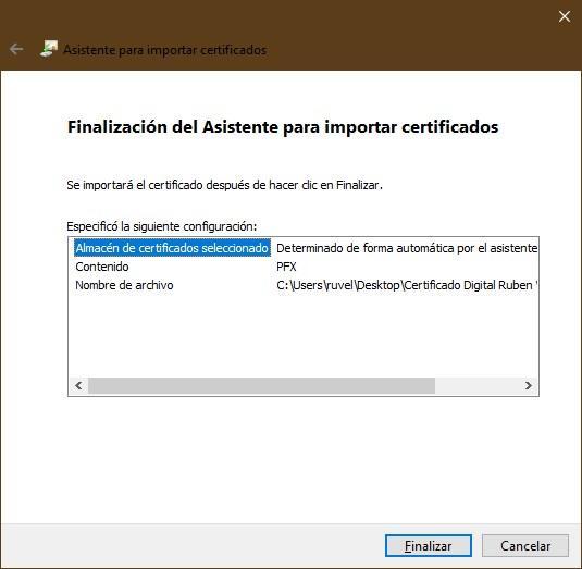 Importar certificado digital Windows - 5