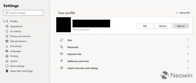 Microsoft Edge basado en Chromium - primeras capturas 6