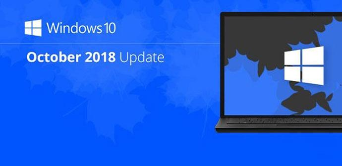 Windows 10 October