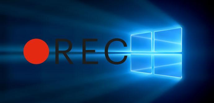 Grabar pantalla Windows