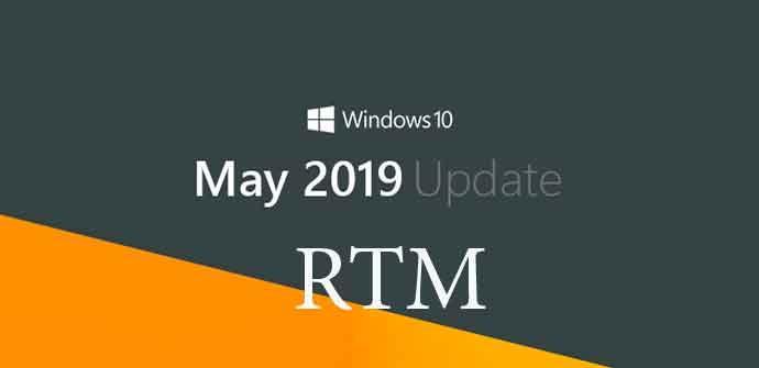 RTM May 2019