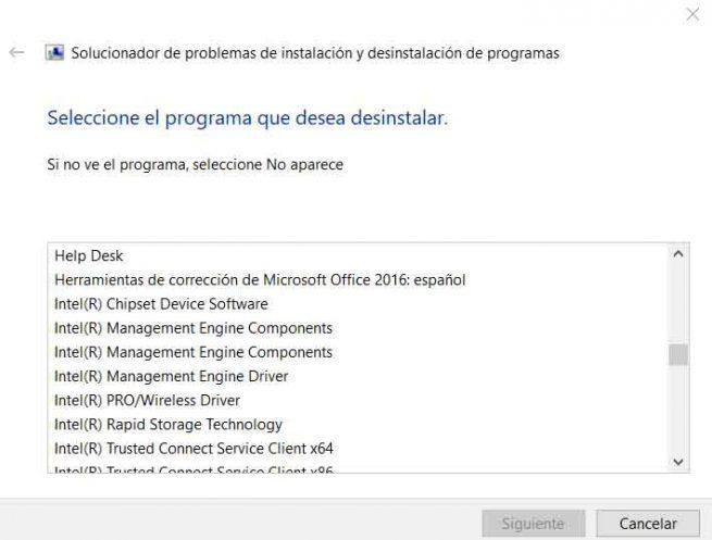 Desinstalador Microsoft