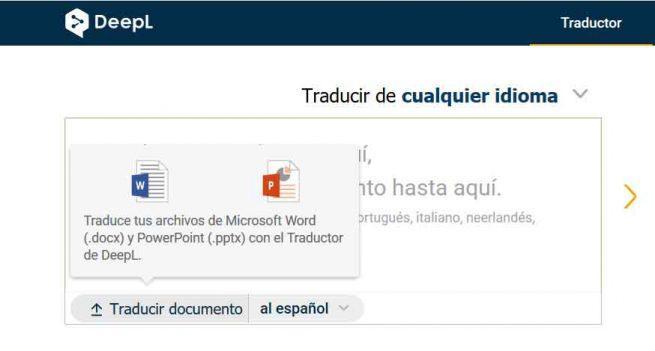 Traducir Word