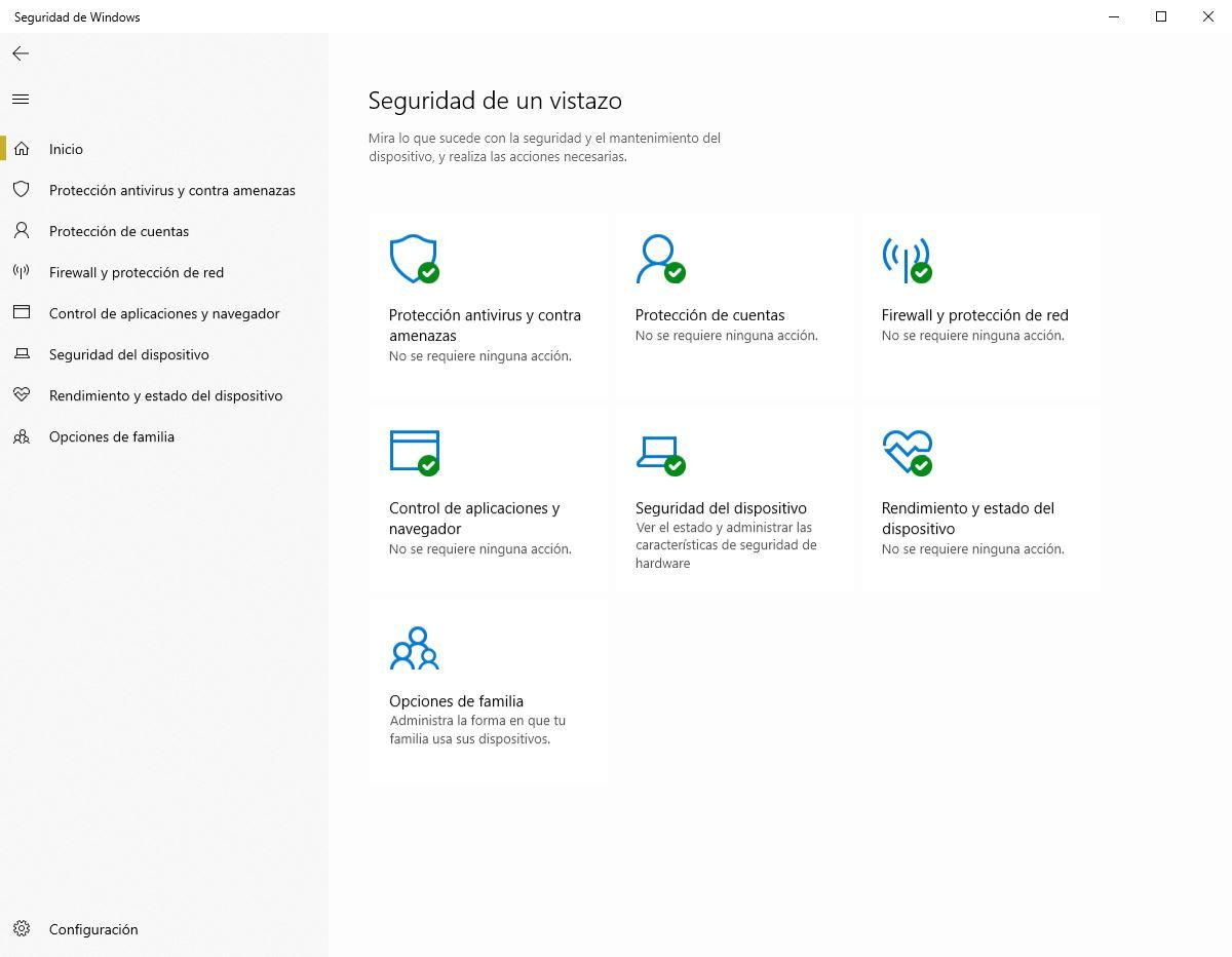 Firewall activado Windows Defender