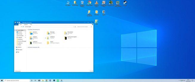 Tema claro Windows 10 May 2019 Update