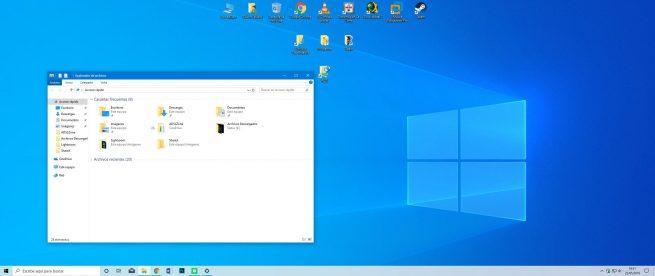 Tema claro Windows 10 May 2019 Update