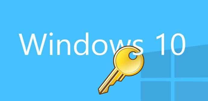 Clave Windows 10