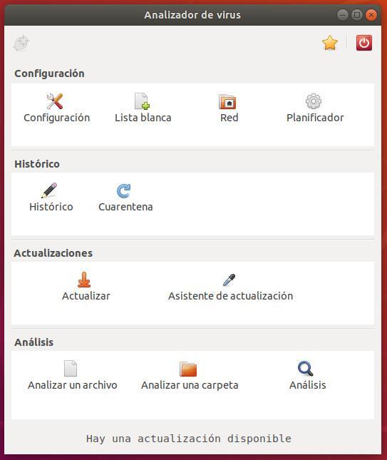 ClamTK Antivirus Linux ClamAV