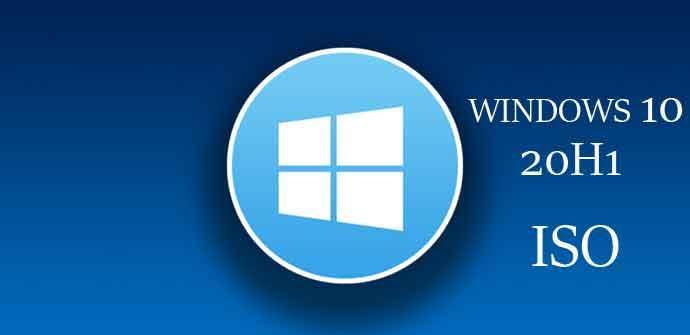 Ver noticia 'Ya puedes descargar la primera ISO oficial de Windows 10 20H1'