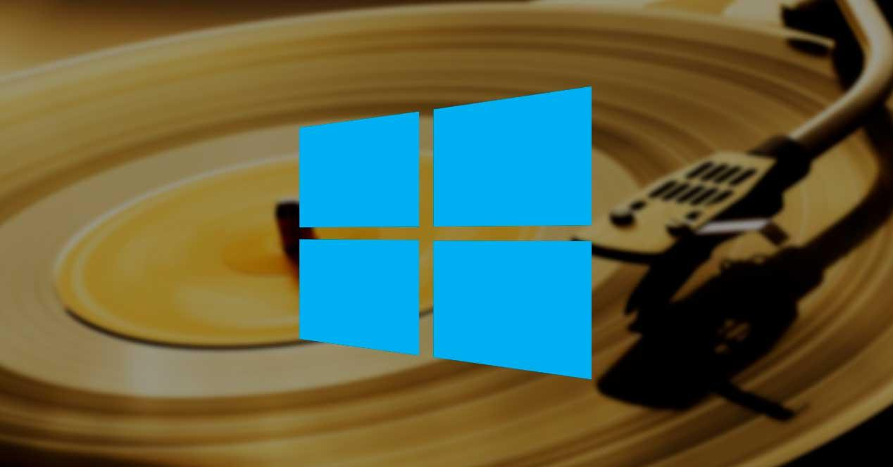 Fondo vinilo Windows 10
