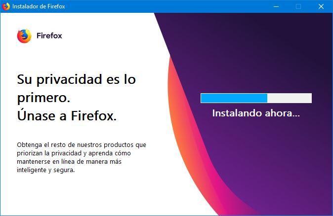 Descarga Firefox, actualizalo y prueba las versiones Nightly y Beta Instalador-Firefox-Windows