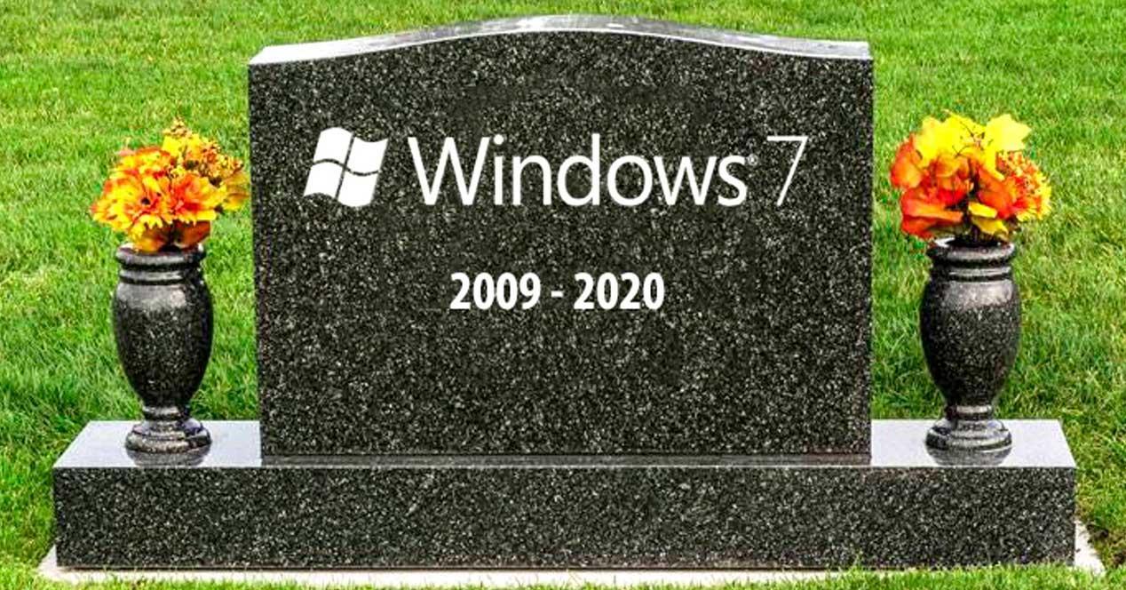 Lapida final Soporte Windows 7
