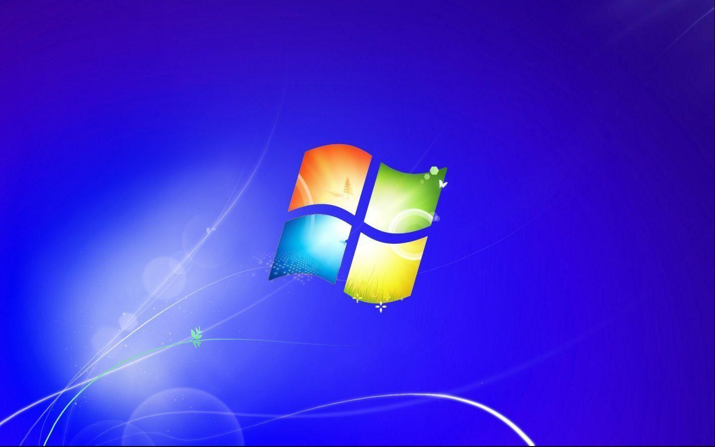 Fondo y logo Windows 7