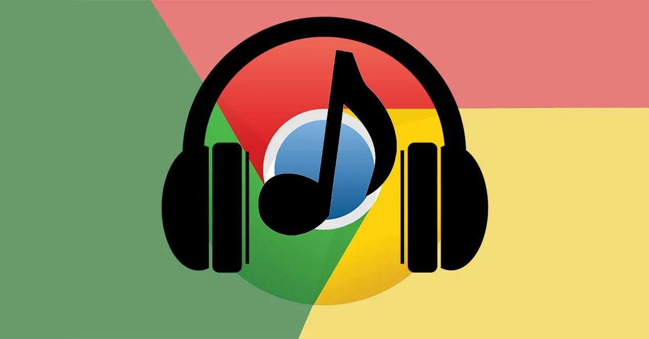 Chrome audio sonido