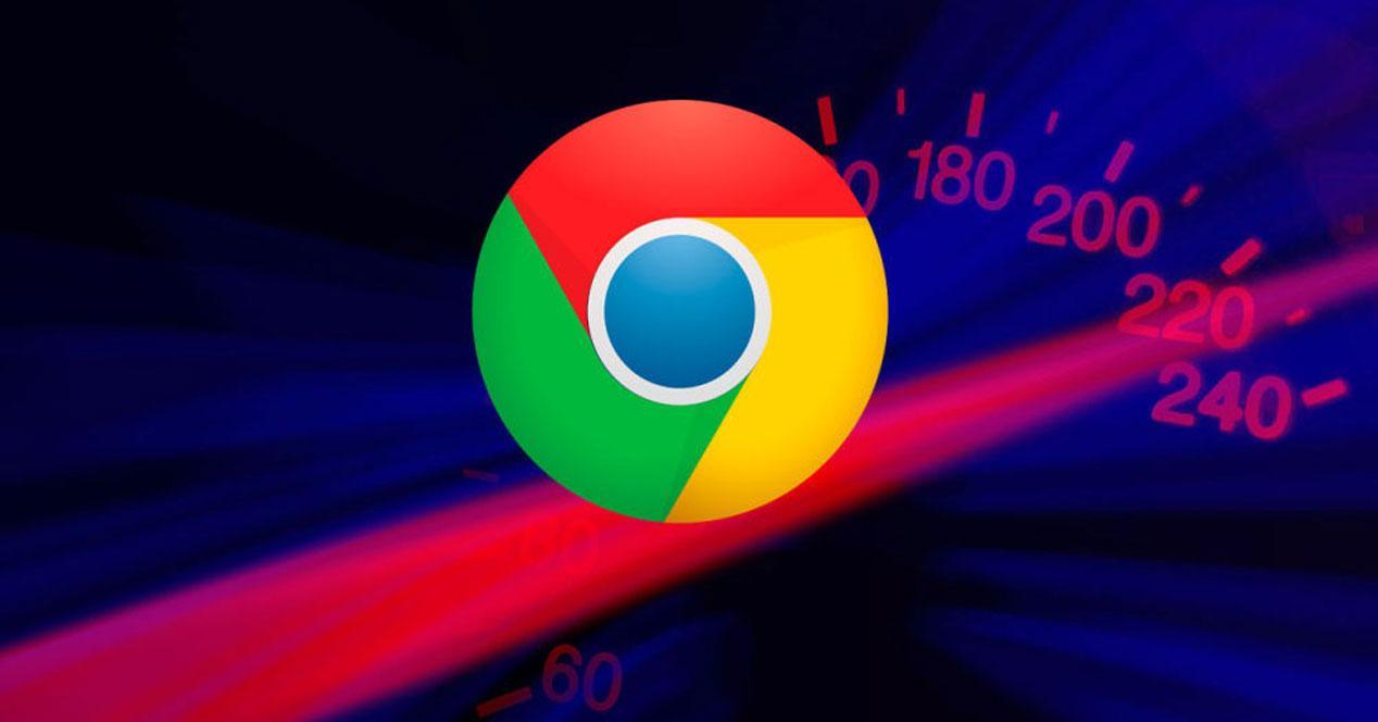 Velocidad de Chrome