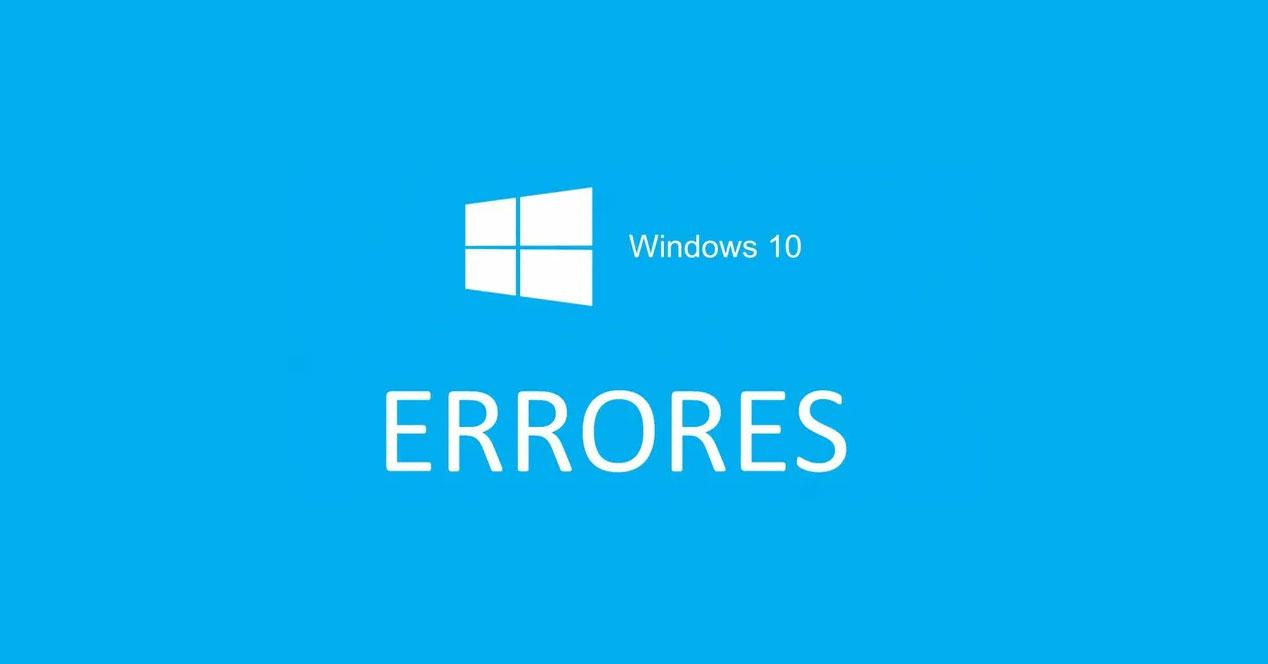 Errores Windows 10