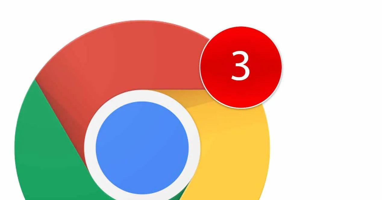 Notificaciones Chrome