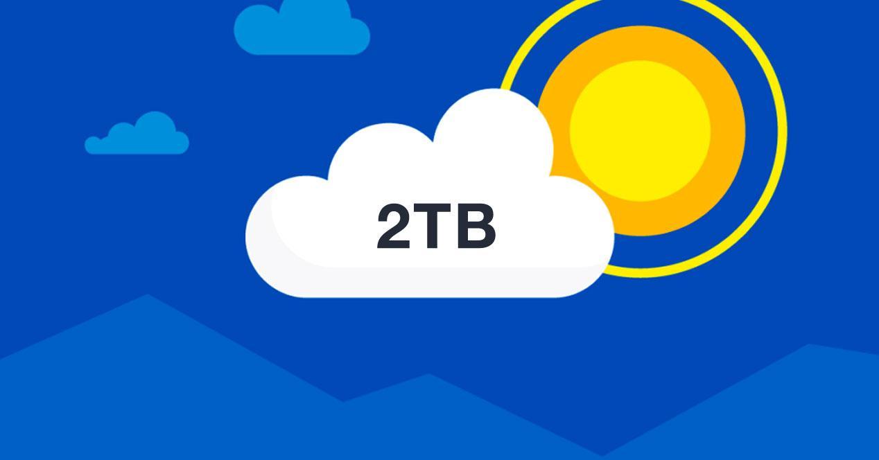 2 TB OneDrive