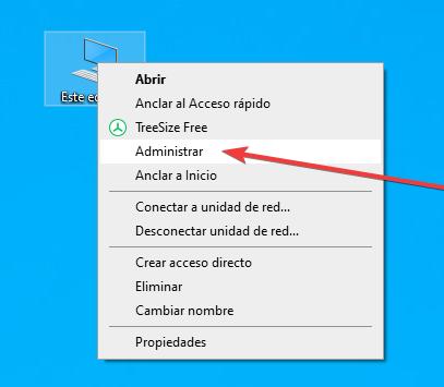 Abrir administrador de dispositivos en Windows 10 - 1