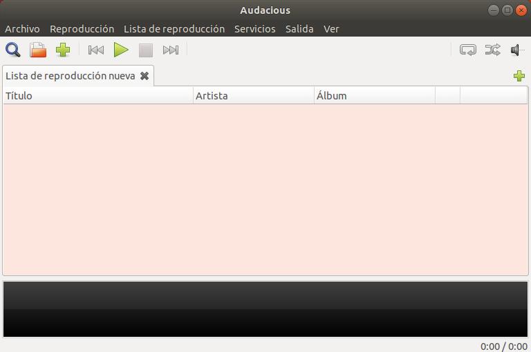 Audacious Ubuntu