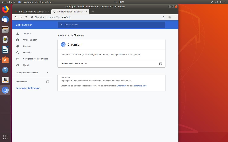 Chromium en Ubuntu