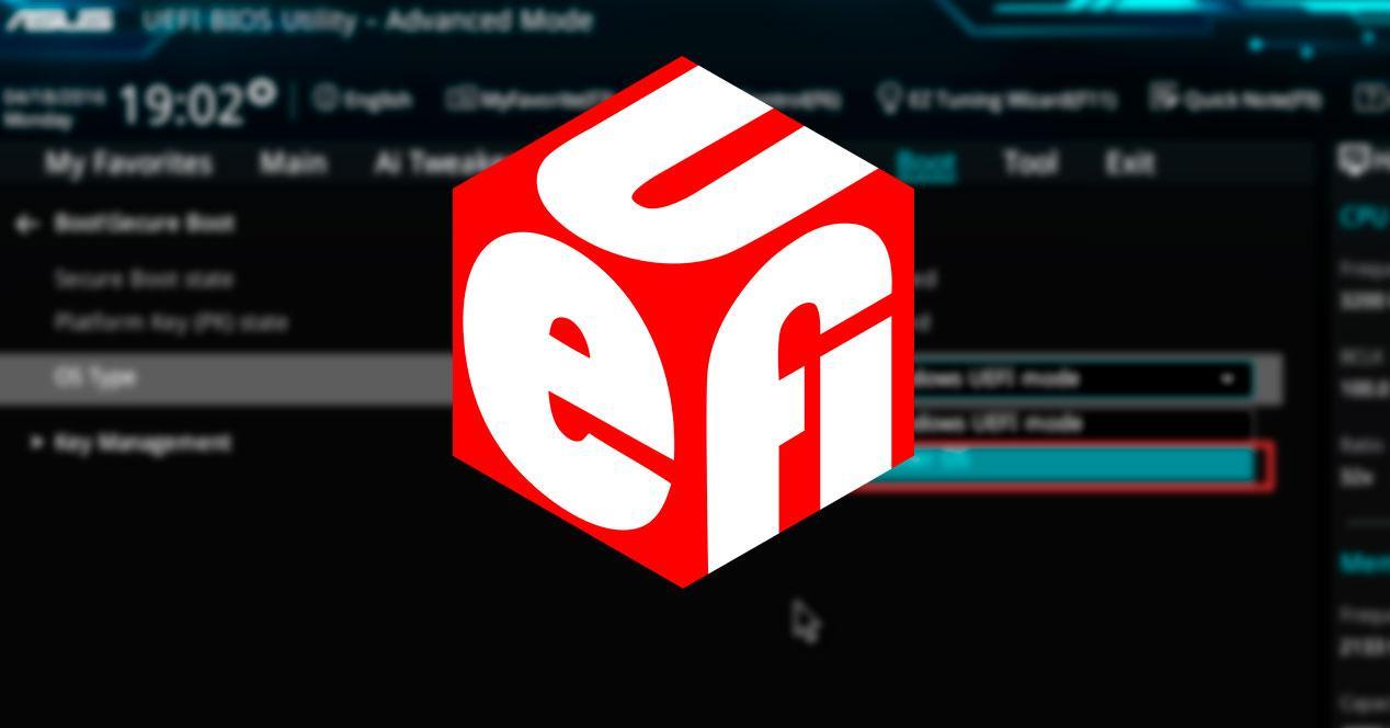 Configuración UEFI