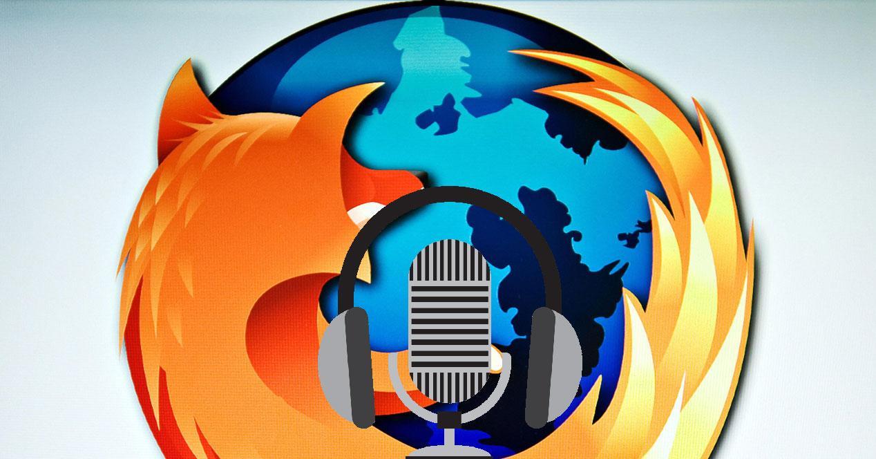 Audio en Firefox