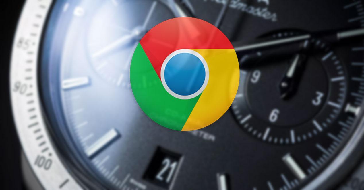 Tiempo en Google Chrome