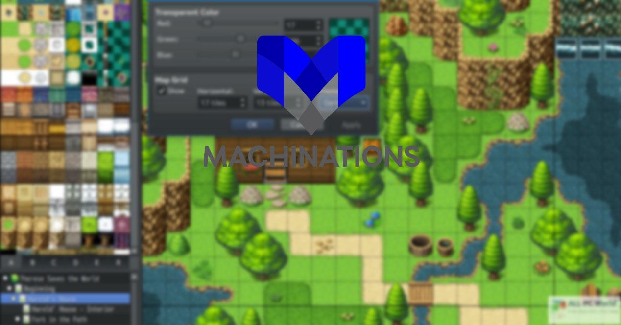 Creación de juegos machinations