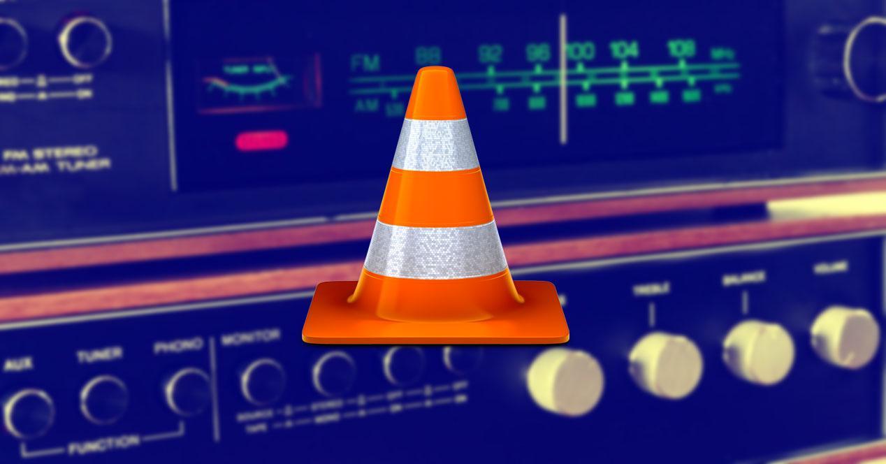 VLC emisoras de radio