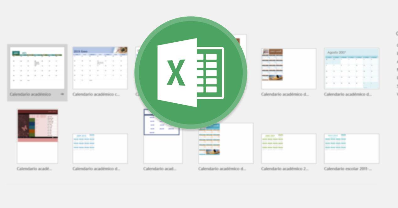 Calendarios académicos Excel