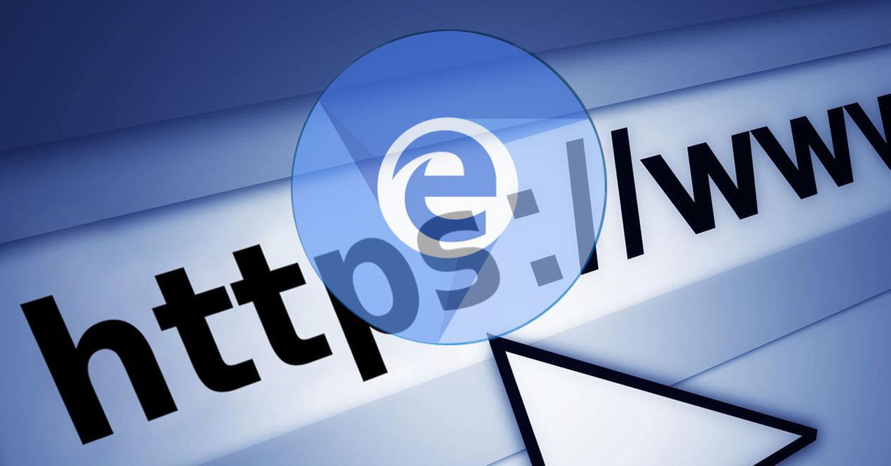 Edge Chromium HTTPS historial