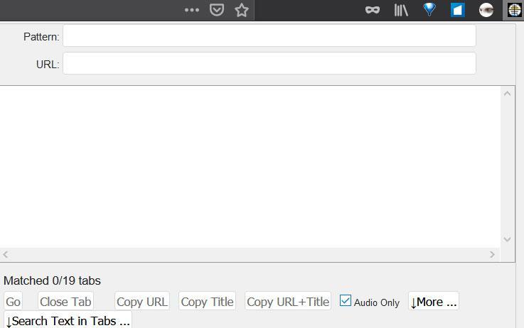 Pestañas con sonido Firefox