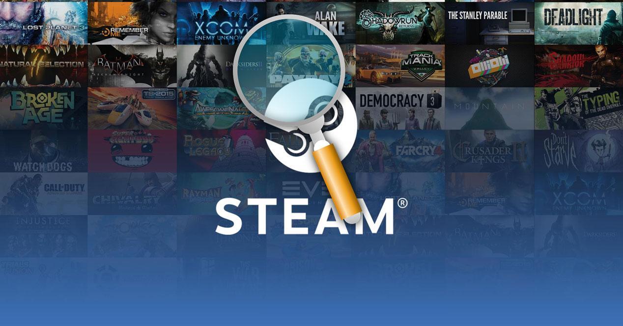 Steam búsquedas