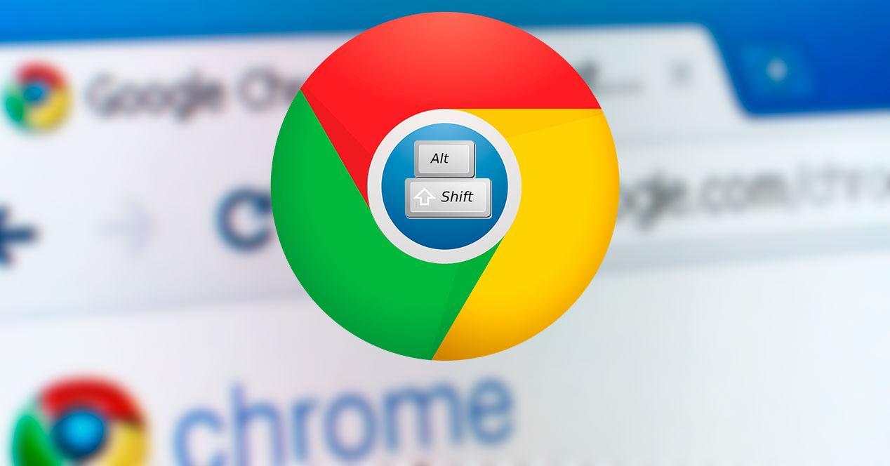 Atajo teclado Pestañas Google Chrome