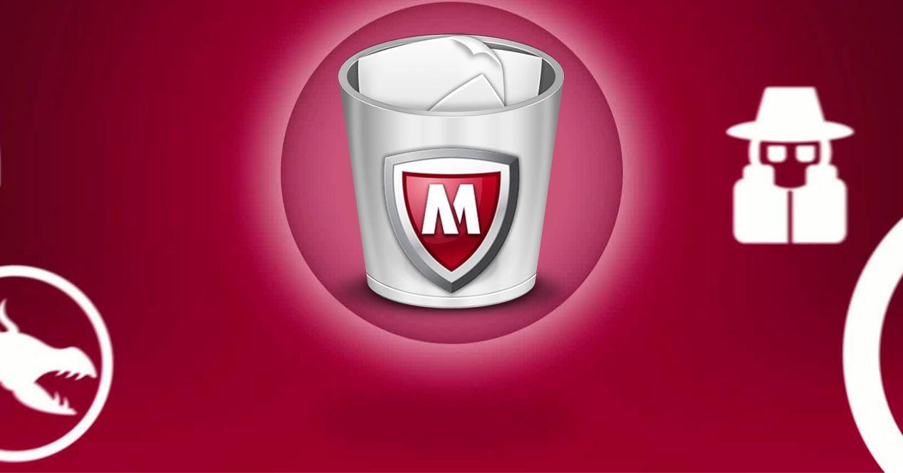 Desinstalar McAfee Windows