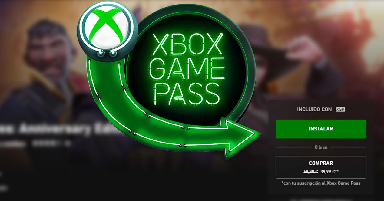 Instalar juego Xbox Game Pass
