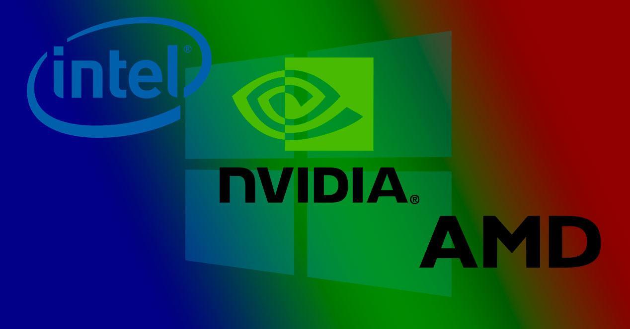 Intel AMD NVIDIA Windows 10
