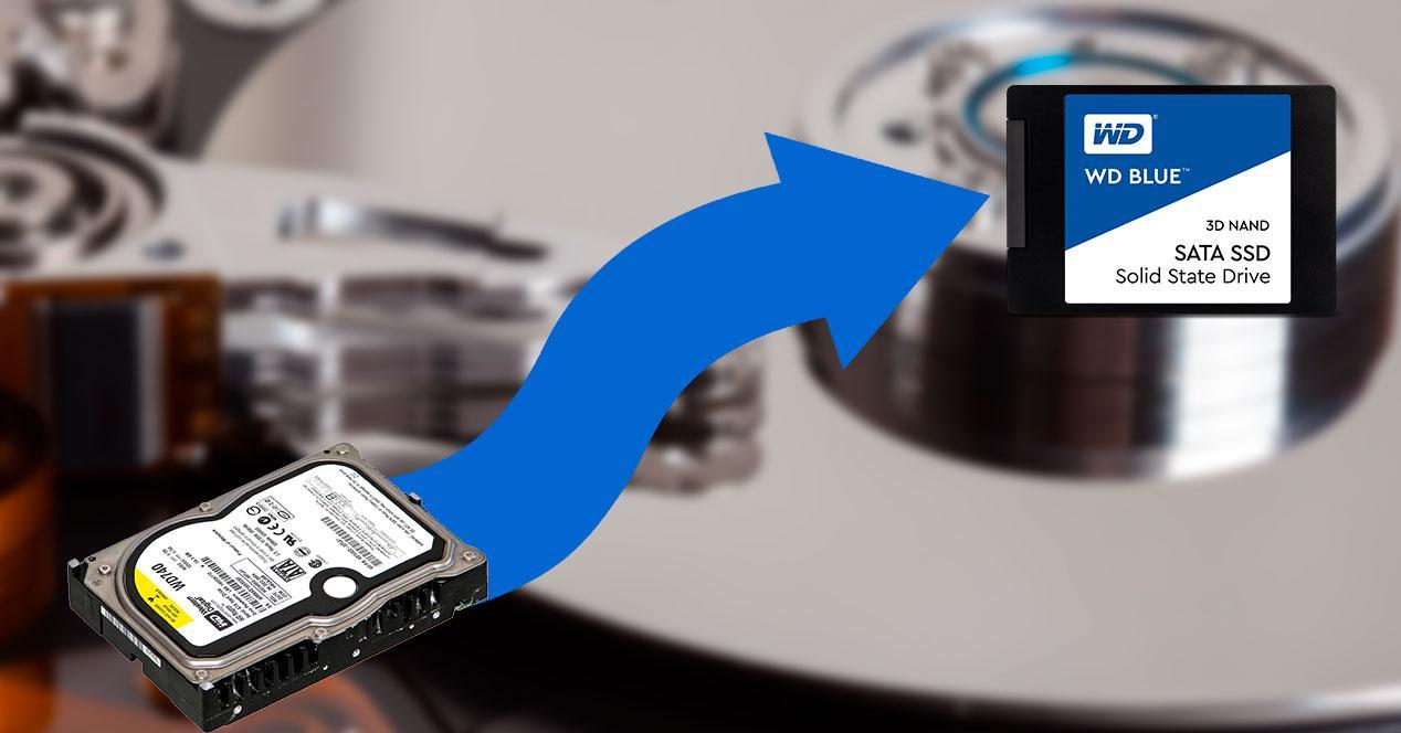 Mover datos disco duro
