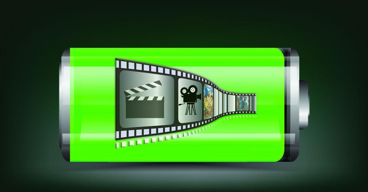 Batería Windows cine