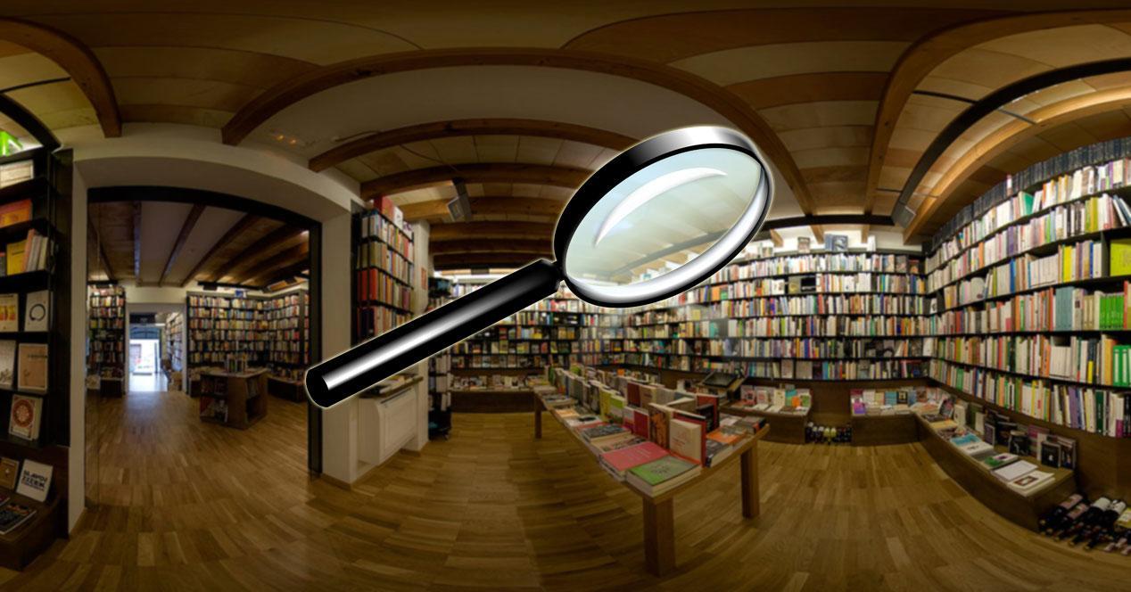Buscar libros calibre