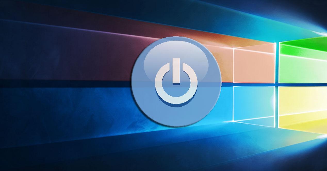Cambio fondo apagado Windows 10