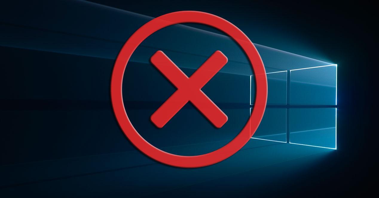 Fallo en Windows 10
