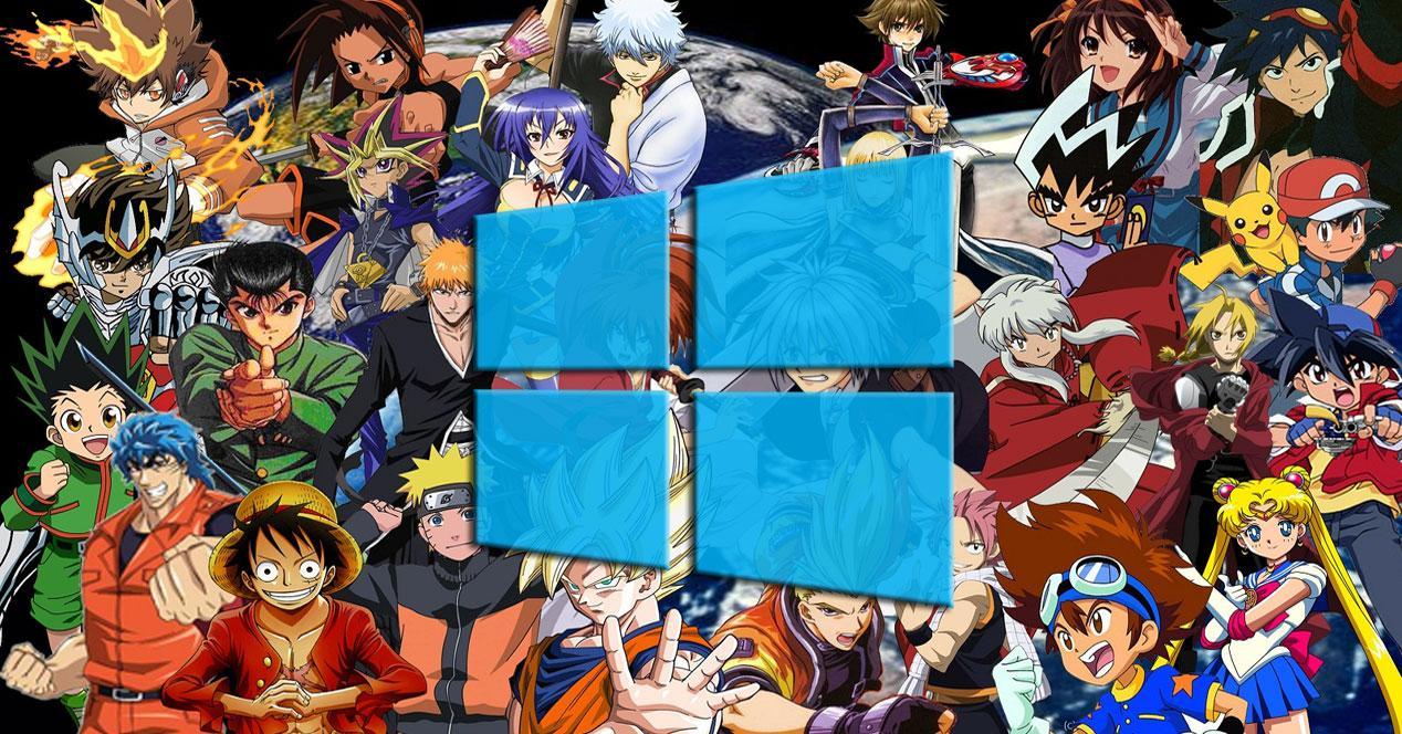 Descarga Estos Temas Anime Para Usar En Windows 10