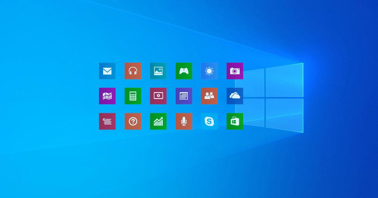 Windows 10 iconos