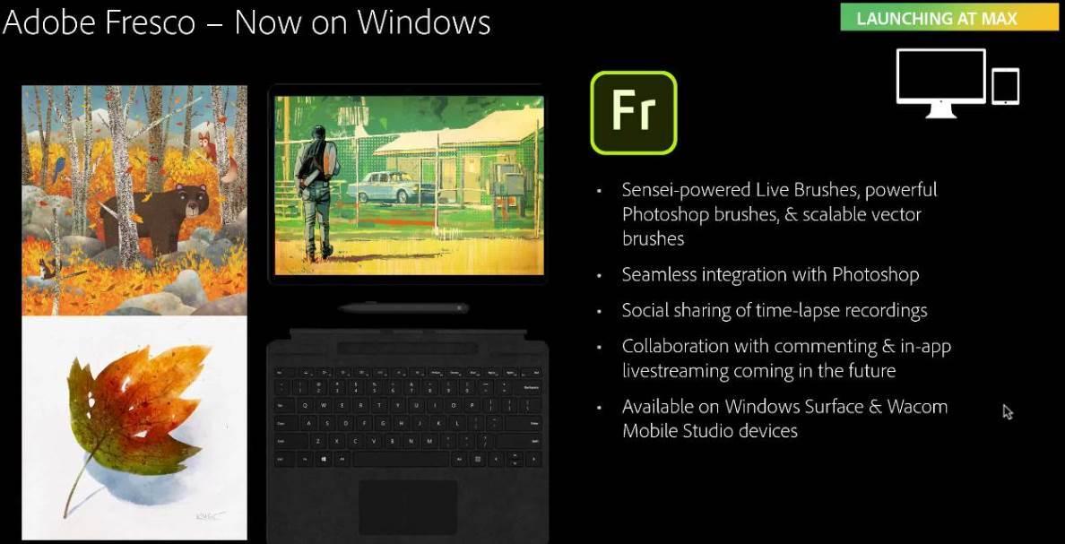 Adobe Fresco en Windows